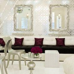 Chic decor (via our LI Interior Design Examiner @Carol Van De Maele Ruth Weber)