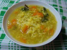 Zeleninová pročisťující polévka Cheeseburger Chowder, Thai Red Curry, Soup, Ethnic Recipes, Soups