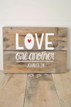 #Love one another.  John 13:34