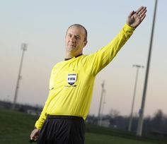Silviu Petrescu of Waterloo is the Major League Soccer referee of the year.