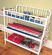 Great idea for the use of a baby changing table