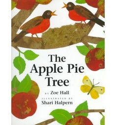The changing seasons bring a tasty surprise in this bright picture book from the author/illustrator team of It's Pumpkin Time!. Two young sisters watch in fascination as their apple tree changes, from bare in winter to bursting with pink blossoms in spring, and as robins build a nest. When autumn comes, the small green apples have grown big enough for picking--and for pie! Full color.