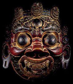 asian buddhist ritual masks tibetan kapala human skull cap bhutan ritual monastery mask trantric buddhist skull caps nepales wooden mask asian buddhist ritual masks