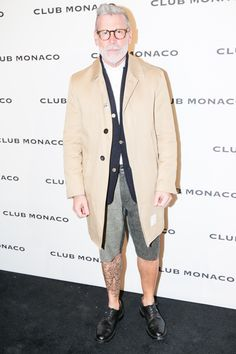 Nick Wooster, Last Night's Top 5 Best Dressed Men by GQ at the Club Monaco grand reopening event