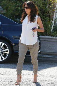 5af17540ab276 Eva Longoria wearing Brian Atwood Temptation Sandal. Eva Longoria Style
