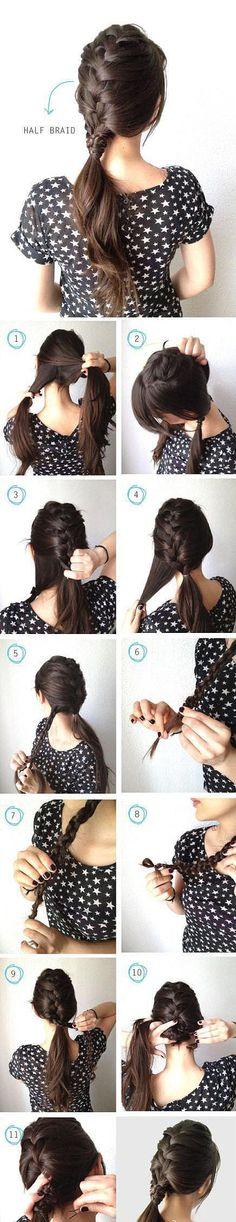 Una mirada será coreano peinado Variedad DIY - conejo obstinado