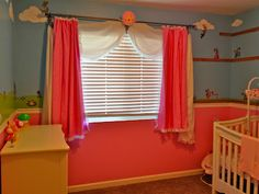 Super Mario Princess Peach Nursery--this needs to happen in the spare room!