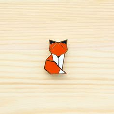 Image of Woodland Fox brooch