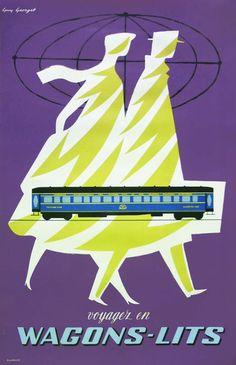 Wagons-Lits : Georget c. 1950