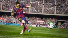 FIFA 15 foi revelado oficialmente e trará novo grafismo nas animações dos jogadores e da torcida e uma nova física geral do jogo.