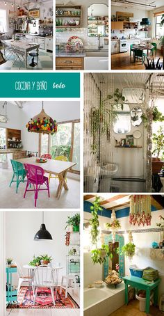 Home Decoration Design Ideas Hippie Chic Decor, Bohemian Decor, Contemporary Interior Design, Interior Design Living Room, Estilo Soho, Eclectic Decor, Colorful Interiors, Home Decor, Ideas Para