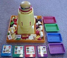 Build A Better Burger. One of my favourite games as a child. Really speaks volumes about growing up in the '80s! ;)