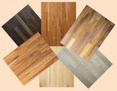 Massief houten werkbladen voor keuken. Deze keuze gemaakt door het voordeel dat ze meer/goed krasbestendig zijn ten opzichte van zacht hout.
