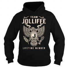Team JOLLIFFE Lifetime Member - Last Name, Surname T-Shirt #name #tshirts #JOLLIFFE #gift #ideas #Popular #Everything #Videos #Shop #Animals #pets #Architecture #Art #Cars #motorcycles #Celebrities #DIY #crafts #Design #Education #Entertainment #Food #drink #Gardening #Geek #Hair #beauty #Health #fitness #History #Holidays #events #Home decor #Humor #Illustrations #posters #Kids #parenting #Men #Outdoors #Photography #Products #Quotes #Science #nature #Sports #Tattoos #Technology #Travel…