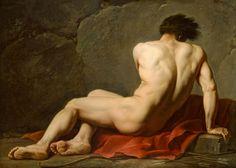Titulo de la imágen Jacques Louis David - Patrocles
