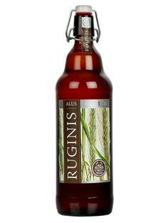RUGINIS 1l Piwo jasne  • zawartość alkoholu 5,2% • doskonały smak • tradycyjna receptura • górna fermentacja