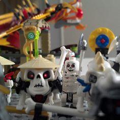 Skeleton army. #lego #ninjago #skeleton #army #toy #bones