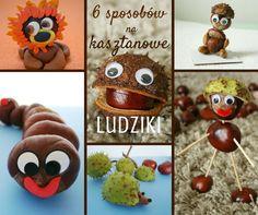 6 sposobów na kasztanowe ludziki / conker craft ideas for kids