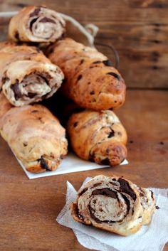 Pane al cioccolato - Chocolate bread
