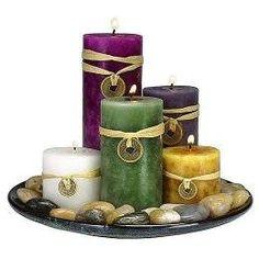 Feng Shui Candle Gift Set