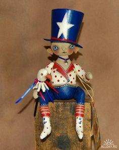 Куклы-примитивы от Robin Armstrong Seeber
