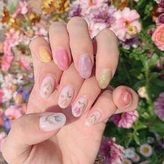 March 03 2020 at nails Rose Nails, Pink Nails, Gel Nails, Manicure, Glitter Nails, Nail Polish, Nailart, Kawaii Nails, Wedding Nails For Bride