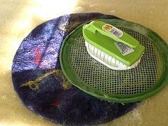Как я сделала комплект для притирания при мокром валянии   Ярмарка Мастеров - ручная работа, handmade