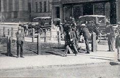 Colonial Building photo - detail - street scene. Taken circa 1905. Pietermaritzburg, Natal