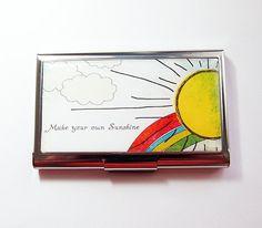 Make your own Sunshine! Card holder