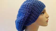 Slouchy Beanie Hat Crochet Unisex by softtotouch on Etsy