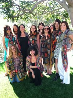 What an amazing day. Here we are in Los Angeles at the Spirited Woman Spirit Luncheon - celebrating what else? our spirit and our 7th Spirited Woman Prayer Scarf Spirit. Many of the women participated in our virtual ceremony too! www.thespiritedwoman.com/prayer_scarf
