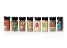 ————— Packaging design of spices range for South African retailer Woolworths. Spices Packaging, Food Packaging Design, Packaging Design Inspiration, Brand Packaging, Packaging Ideas, Garlic Seeds, Spice Logo, Label Design, Packaging