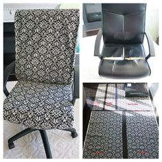 Cooper & Chloe: Trash to Treasure: Office Chair Re-upholstery