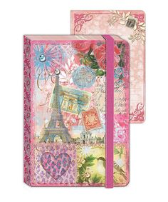Take a look at this Paris Enchantment Mini Journal - Set of Two by Punch Studio on #zulily today!
