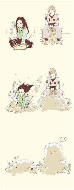 HAHAHAHAHAHA!!! Hisoka got buried!! Hunter x Hunter