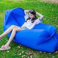 Upgraded Version Outdoor Inflatable Couch, kids sleeping bags, sleeping air bag, sleeping bag liner #gardening #travel #weddings camping decorations, camping recipes, camping meals, back to school, aesthetic wallpaper, y2k fashion Kids Sleeping Bags, Camping Coffee, Oxford Fabric, Sofa, Couch, Aesthetic Wallpapers, The Great Outdoors, Hammock, Back To School