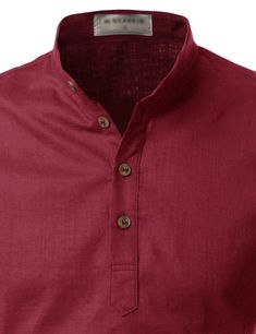 Bali Roll-up Linen Shirt African Men Fashion, Mens Fashion, Denim Button Up, Button Up Shirts, Roll Up Sleeves, Bali, Cotton, Men's Clothing, T Shirts