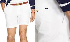 "Polo Ralph Lauren Classic-Fit 6"" Chino Shorts"
