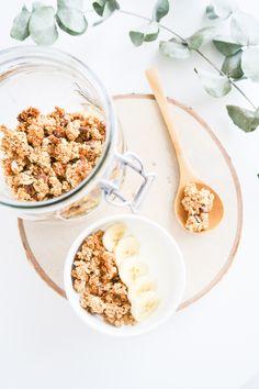Muesli healthy et croquant noix de coco chocolat - Je dis M. Food & Blog Lifestyle en Normandie