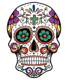 calavera  Tatoos  Pinterest  Calaveras Dia de las muertos y