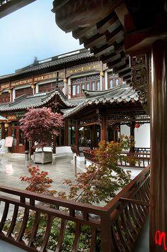 paomama:    Hamburg, Chinese Tea House  by frankartculinary