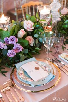 """WedLuxe – An Ode to Marie Antoinette's """"Enchanted Garden"""" 