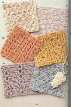 262 Crochet patterns (free book)