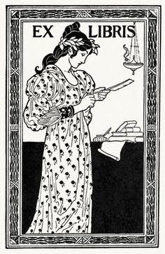 Art Nouveau Book Plates  theartnouveaublog.blogspot.com