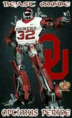 Beast Mode. SAMAJE PERINE.   #BOOMER SOONER. VIA :  THE BOB STOOPS ARMY