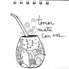 Love Mate, Yerba Mate, Posca, Zentangle, Letters, Stickers, Tattoos, Painting, Instagram