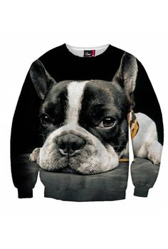 """$59 Sometimes your favorite sexy sweater feels more and more like a friend. You must surely know the feeling. The """"Loyal Dog"""" is more than just a comfortable piece of clothing; it is like a loyal pet that keeps its eye on you at all times."""