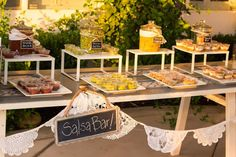 Image result for salsa bar at wedding