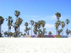 Venice Beach is famous as the Baywatch Beach.
