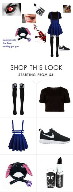 """Cannibal Carol"" by ulayler-rulez on Polyvore featuring Ted Baker and NIKE"